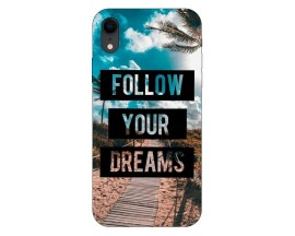 Husa Silicon Soft Upzz Print iPhone Xr Model Dreams