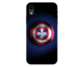 Husa Silicon Soft Upzz Print iPhone Xr Model Shield 1