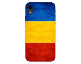 Husa Silicon Soft Upzz Print iPhone Xr Model Tricolor