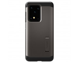 Husa Originala Spigen Tough Armor Samsung Galaxy S20 Ultra, Gunmetal
