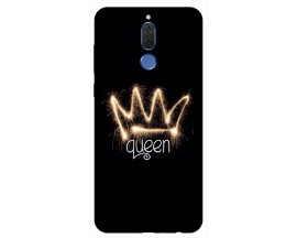 Husa Silicon Soft Upzz Print Huawei Mate 10 Lite Model Queen