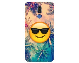 Husa Silicon Soft Upzz Print Huawei Mate 10 Lite Model Smile