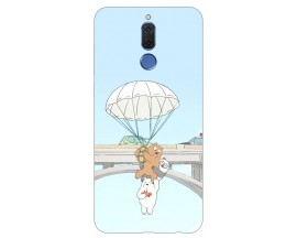 Husa Silicon Soft Upzz Print Huawei Mate 10 Lite Model Three Bears