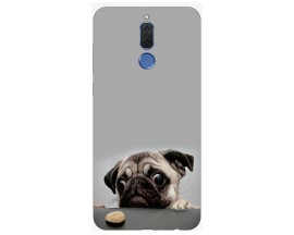 Husa Silicon Soft Upzz Print Huawei Mate 10 Lite Model Dog
