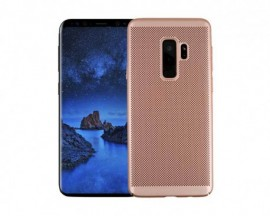 Husa Lux Hard Ultra Slim Air-up Samsung A6 2018 Rose Gold