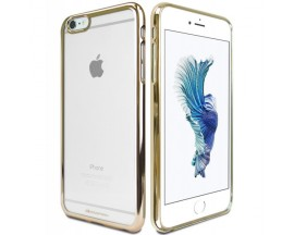Husa Spate Goospery Ring 2 iPhone 6 Plus 6s Plus Transparent Gold