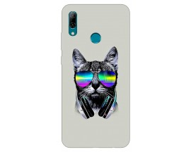 Husa Silicon Soft Upzz Print Huawei P Smart 2019 Model Cat