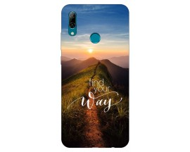 Husa Silicon Soft Upzz Print Huawei P Smart 2019 Model Way