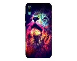 Husa Silicon Soft Upzz Print Huawei Y6 2019 Model Moon