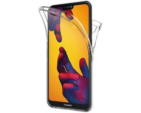 Husa 360 Grade Silicon Huawei P40  Lite Transparenta