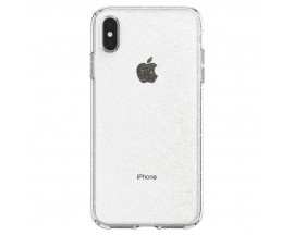 Husa Spigen Liquid Crystal Glitter iPhone X /xs Transparenta Crystal