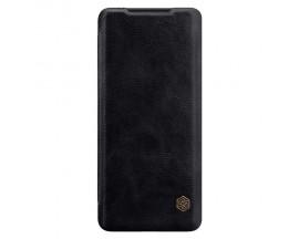 Husa Premium Flip Cover Nillkin Qin Samsung Galax S20 Ultra Negru