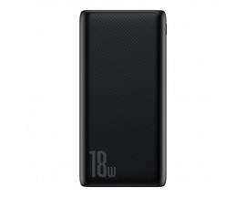 Baterie Externa Power Bank Baseus Bipow 10000mAh, 2x USB / 1x USB Typ C, 18W Quick Charge 3.0 black