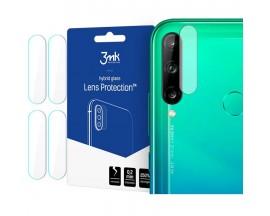 Folie Sticla Nano Glass 3MK  Pentru Camera Huawei P40 Lite E , Transparenta, 4 Buc In Pachet