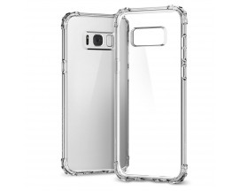 Husa Anti-shock Tpu Silicon Crystal Clear Upzz Samsung S8 Plus Transparenta