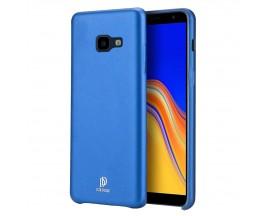Husa Spate Originala Duxducis Skin Lite Samsung Galaxy J4+ 2018 Piele Albastru