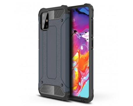 Husa Armor Upzz Samsung Galaxy A71 Anti-shock Dark Blue