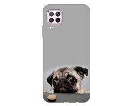 Husa Silicon Soft Upzz Print Huawei P40 Lite Model Dog