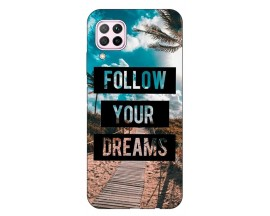 Husa Silicon Soft Upzz Print Huawei P40 Lite Model Dreams