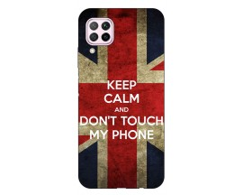 Husa Silicon Soft Upzz Print Huawei P40 Lite Model Keep Calm