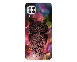 Husa Silicon Soft Upzz Print Huawei P40 Lite Model Sparkle Owl
