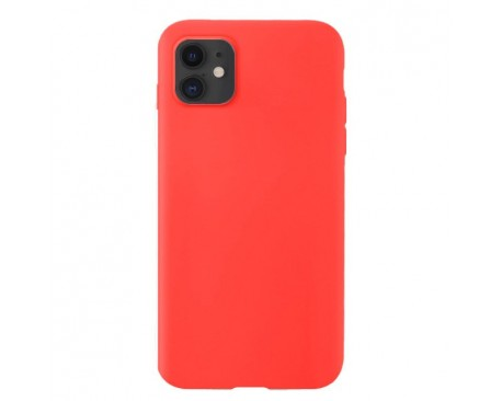 Husa Silicone Soft Upzz Liquid iPhone 11 Rosu