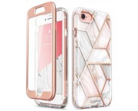 Husa Premium Originala 360 Grade Supcase Cosmo iPhone Se 2 ( 2020 ) Marble