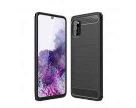 Husa Spate Upzz Carbon Pro Samsung Galaxy A41 Negru