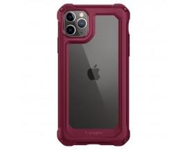 Husa Premium Originala Spigen Gauntlet iPhone 11 Pro ,Ultra Rezistenta ,Iron Red