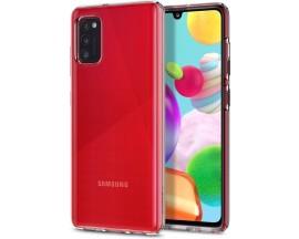 Husa Premium Spigen Liquid Crystal Samsung Galaxy A41 Transparenta