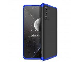 Husa Spate Upzz Protection 360 Samsung Galaxy s20, Negru Albastru