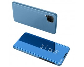 Husa Flip Cover Upzz Mirror Huawei P40 Lite Albastru