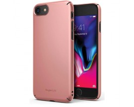 Husa Premium Ringke Slim iPhone Se 2 ( 2020 ) ,policarbonat , Rose Gold