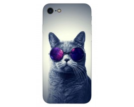 Husa Silicon Soft Upzz Print iPhone Se 2 ( 2020 ) ,model Cool Cat