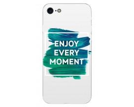 Husa Silicon Soft Upzz Print IPhone Se 2 ( 2020 ) ,Model Enjoy
