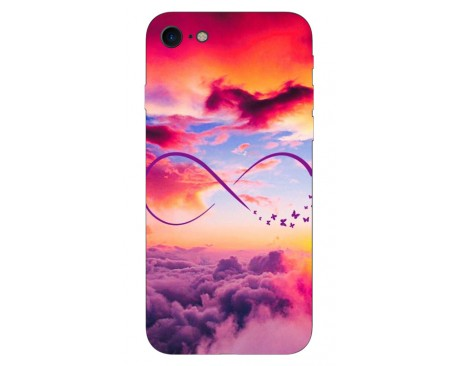 Husa Silicon Soft Upzz Print IPhone Se 2 ( 2020 ) ,Model Infinity