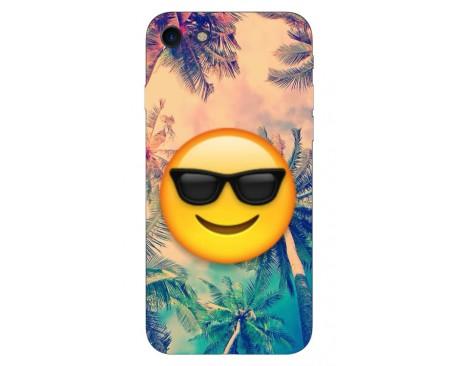 Husa Silicon Soft Upzz Print IPhone Se 2 ( 2020 ) ,Model Smile