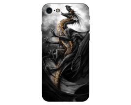 Husa Silicon Soft Upzz Print IPhone Se 2 ( 2020 ) ,Model Dragon 1
