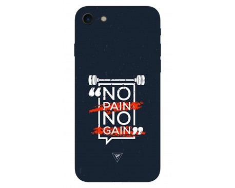 Husa Silicon Soft Upzz Print IPhone Se 2 ( 2020 ) ,Model Pain