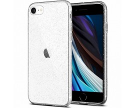 Husa Premium Spigen Liquid Crystal Glitter iPhone Se 2 (2020) ,silicon ,Transparent
