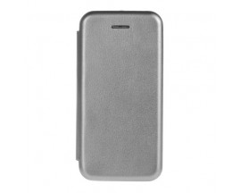 Husa Flip Carte Cu Magnet Lux Upzz iPhone Se 2 ( 2020 ) , Gri