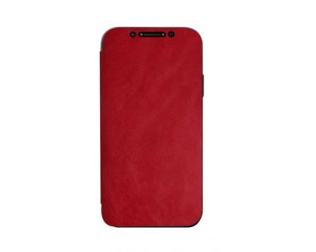 Husa Premium Flip Book Upzz Leather iPhone 11 Pro Max , Piele Ecologica, Rosu