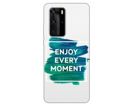 Husa Silicon Soft Upzz Print Huawei P40 Pro Model Enjoy