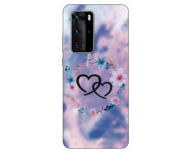 Husa Silicon Soft Upzz Print Huawei P40 Pro Model Love