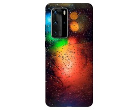 Husa Silicon Soft Upzz Print Huawei P40 Pro Model Multicolor