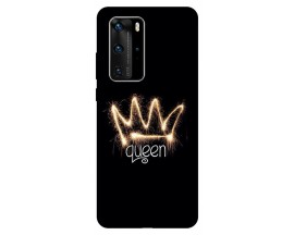 Husa Silicon Soft Upzz Print Huawei P40 Pro Model Queen
