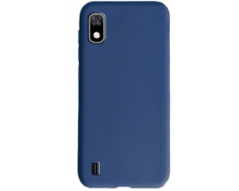 Husa Ultra Slim Upzz Candy Pentru Samsung Galaxy A10 ,1mm Grosime ,Navy Blue