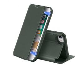 Husa Premium Duxducis Skin X Flip Cover iPhone Se 2 ( 2020 ) ,Green