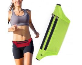 Borseta /geanta Sport Upzz Ultimate Pentru Alergare Cu Orificiu Pentru Casti, Verde