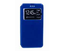 Husa Flip Tip Carte Upzz iPhone 6 6s Dark Blue